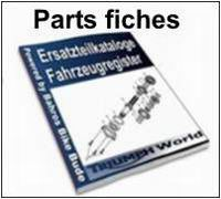 Parts Fiches for all Triumphs